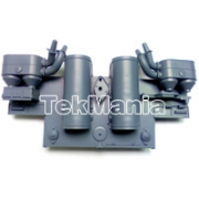 1:16 3818-1 Tiger 1 Rear Panel (Grey)