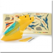 E-SKY Honey Bee King 2 Canopy (Yellow) with Decals £16.99rrp