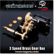 Waltersons 3 Speed Brass Gearbox Plate A 20mm Drive Shaft £49.99