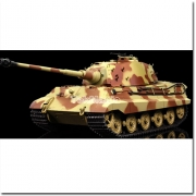 Waltersons Henschel Turret King Tiger with Metal Gearbox £199.99